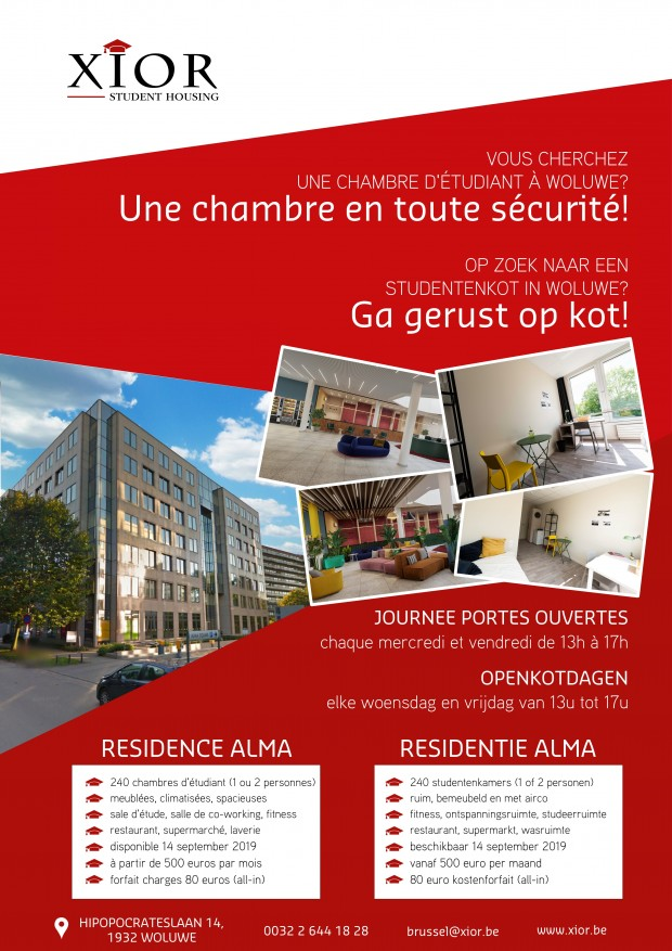 VISIT OUR NEW RESIDENCE AT WOLUWE